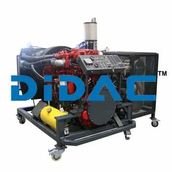 Diesel Engine Bench Cummins ISL9 EPA 2010