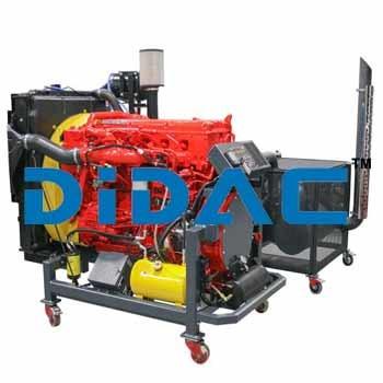 Diesel Engine Bench Cummins ISX15 EPA 2013
