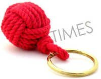 Monkey Fist Rope Key Chain