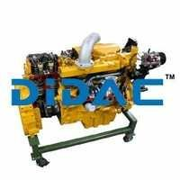 Cutaway Diesel Engine
