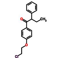 1-[4-(2-chloroethoxy) phenyl] 2-phenyl-1-butanone