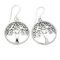 Latest Silver Plated Earring