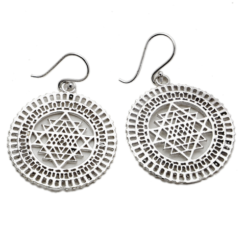 Silver Plated Dangle Earring