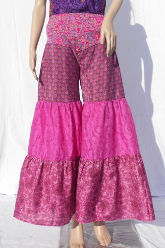 Silk Beachwear Casual Trouser