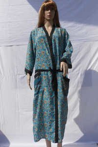 Silk Beachwear Casual Kimono Dresses