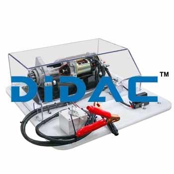 Functional Cutaway Diesel Starter