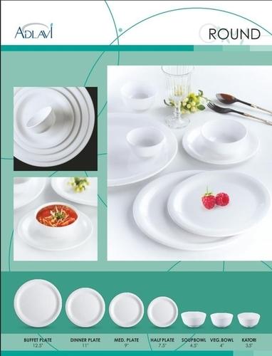 Melamine Round Plates