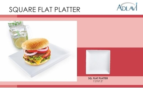 Square Flat Platter
