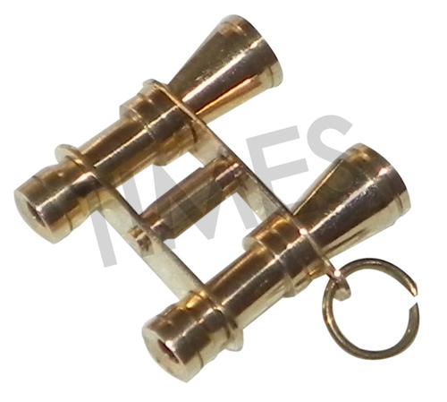 Binocular Key Chain