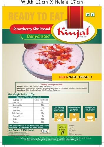 Strawbeery Shrikhand