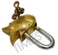 Brass Fish Padlock