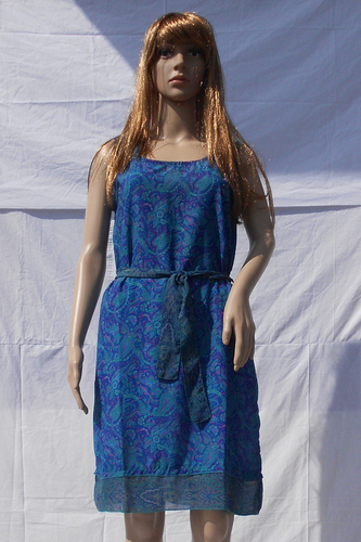 Silk Beachwear Casual Dresses