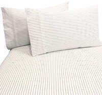 Urban Stripe Brown King Sheet Set