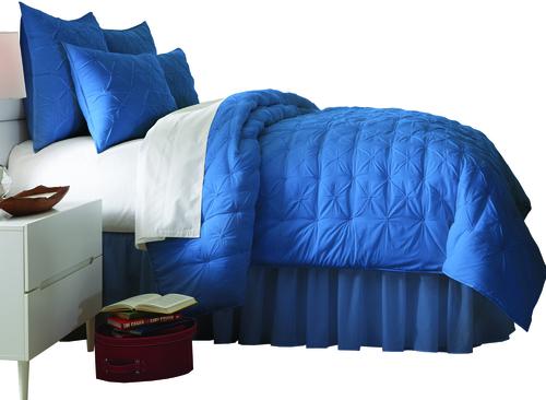 ARIA BEDSPREAD - COMFORTER SET Blue