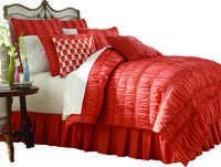 Serenade BEDSPREAD - COMFORTER Orange