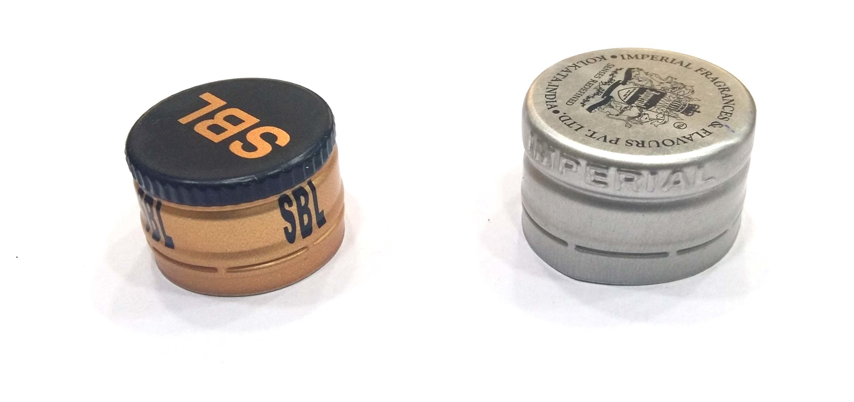 Small Metal Screw Caps