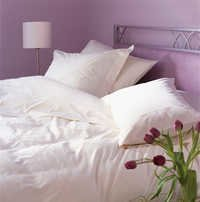 Naples White Duvet Cover