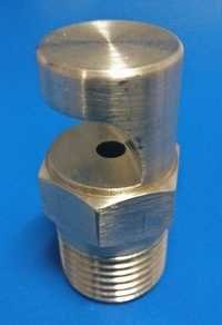 BRASS FLAT JET NOZZLE WITH FLOOD JET