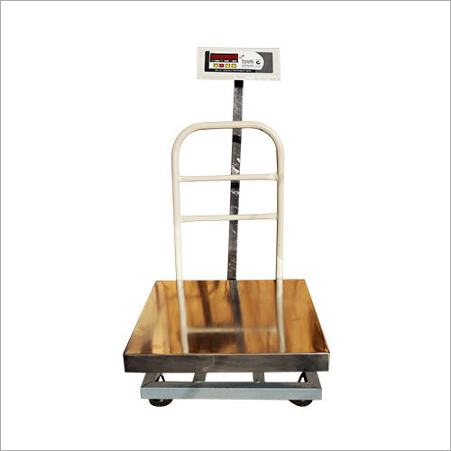 Weighing Scale SS Pan Platform