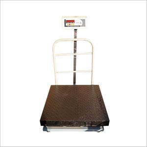 Platform Scale Ms Chequered Plate