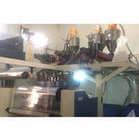 Multilayer co-extrusion cast film extrusion machine