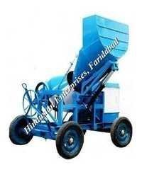 Concrete Mixer Machine With Hyraulic-Hopper