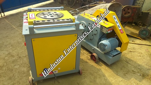 Bar Bending And Cutting Machine