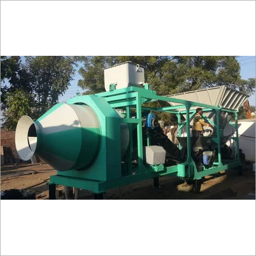 REVERSIBLE CONCRETE MIXER BATCHING PLANT