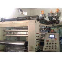 double layer stretching film machine