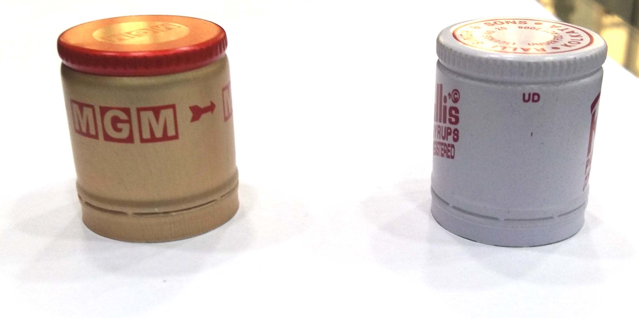 Juice and Liquor Bottle Caps