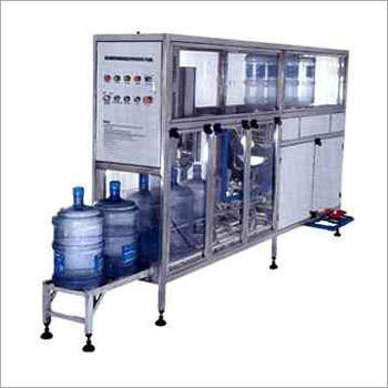 Fully Automatic Jar Rinsing, Filling, Sealing Machine