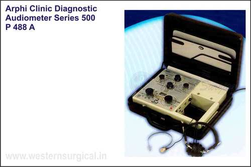 ARPHI CLINICAL DIAGNOSTIC AUDIOMETER SERIES 500
