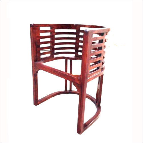 Wooden Bedroom Chair With Cushion Seat