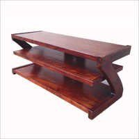 Z shaped TV Table