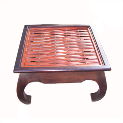 Dual-tone Coffee Table With Glass Top