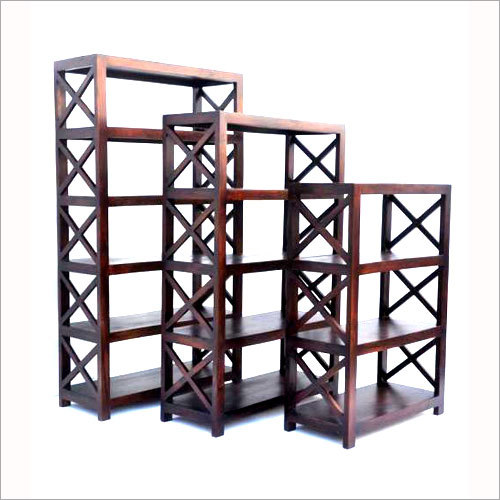 Cross Bar Design Open Storage Rack