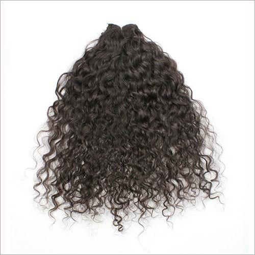 Kinky Curly Wefted Hair
