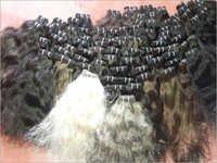 Natural Black Wefted Hair
