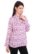 Rayon Formal Wear High Low Top