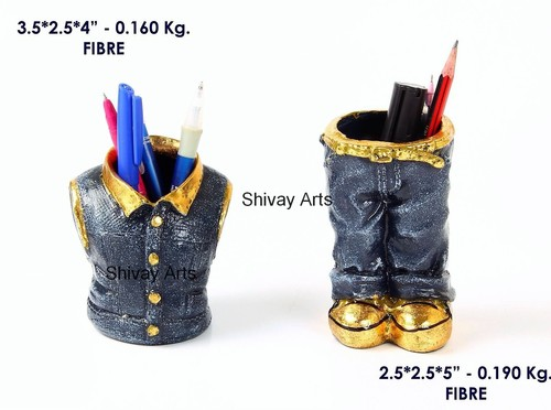 Fibre Quirky Pant Shirt Pen Stand Pen Holder Pencil Stand Pencil Holder