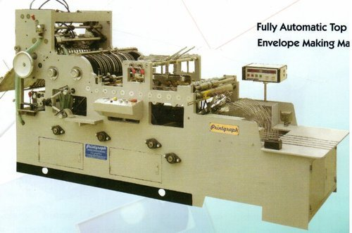 Top Open Envelope Making Machine