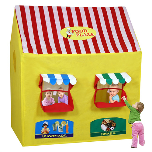 Food Plaza Play Tent