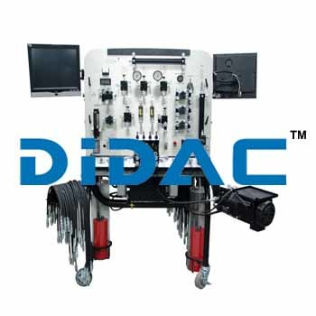 Double Sided Hydraulics Trainer With Touch Screen