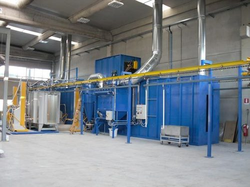 Conveyorised Powder Coating Plant