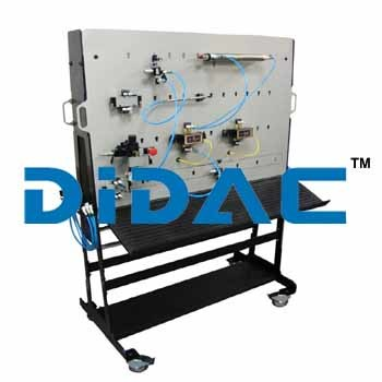 Single Sided Basic Pneumatics Trainer