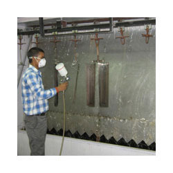 Conveyorised Liquid Paint Shop