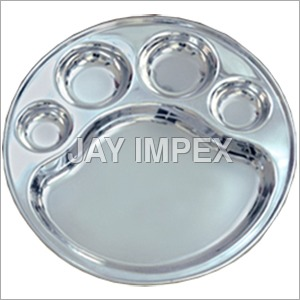 5 Compartment Plate