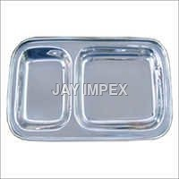 2 Compartment Plate