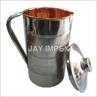 Steel Copper Jug
