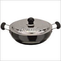 Hard Anodized Deep Kadai With Lid
